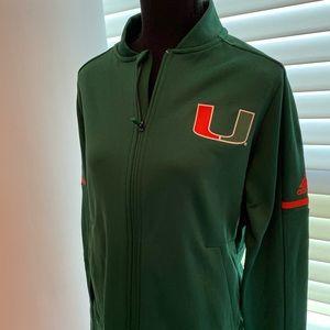 Miami Hurricane Addias Jacket
